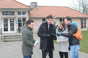 teamuitje in Eindhoven